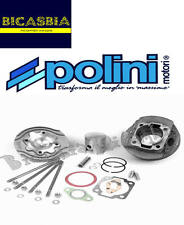 4481 - CILINDRO POLINI RACING GHISA DM 57 130 CC VESPA 50 SPECIAL R L N