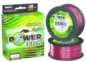 Power Pro 21100800300V Spectra Braided Fishing Line 80 lb. 300 Yd Vermillion Red