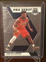 2019 - 2020 Panini Prizm Mosaic Zion Williamson Rookie New Orleans Pelicans RC