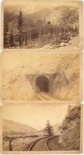 Colorado Midland Railroad Cabinet Card Photos Lot 1191