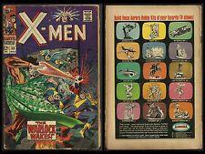 UNCANNY X-MEN #30 FR/GD (Marvel 1967) THE WARLOCK aka MAD MERLIN