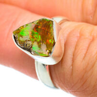 Ethiopian Opal 925 Sterling Silver Ring Size 6 Ana Co Jewelry R42304F