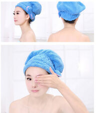 1X Magic Style  Dry Hair Cap Shower Super Absorbent Microfiber Hair Wrap Towe_ws