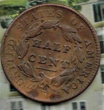 1828 USA Half Cent classic Head