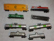HO  train car lot tanker parts custom shells