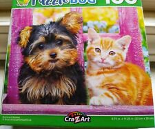 New 100 Piece Jigsaw Puzzle (Backyard Besties) Great for Kids and Adults!