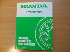Officina Manuale suppletivo HONDA VT 600 C modello 1993 SHOP MANUAL addendum