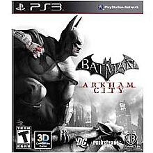 Batman: Arkham City - Black Label - Sony PlayStation 3 PS3 Action / Adventure
