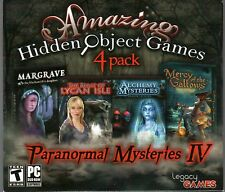 LEGACY TALES: MERCY OF THE GALLOWS Hidden Object 4 PACK +BONUS PC Game DVD NEW