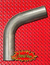 3 Inch 75 degree Mandrel Bend exhaust pipe custom DIY Turbo Downpipe muffler 14g