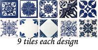 "SPECIAL 90 Mexican Tiles Ceramic Talavera Clay 4""x4"" Tile different designs"