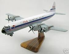 L-188 TAA Electra Gear Down Airplane Handcrafted Wood Model Regular New
