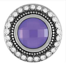 Buy 4, Get 5Th $6.95 Snap Free Ginger Snaps™ Jewelry Heirloom - Frosty Violet