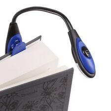 FLEXIBLE CLIP ON BRIGHT LED READING LIGHT Bed Table Desk Book Bendy Craft Lamp