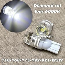 6000K Wedge T10 LED bulb SMD DIAMOND CUT Parking w5w 168 194 2825 for Toyota L