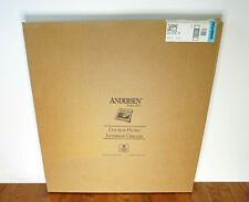 Andersen Window Grille TW3042 Double Hung Tilt-Wash Sandtone / Wood - Set of (2)
