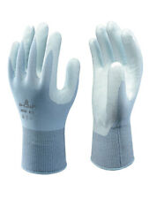 10 x SHOWA 265R Lightweight Assembly Grip Lite Low-Lint Gloves Nitrile Palm Coat