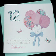 Handmade Personalised Birthday Card / 16th 18th 21st 30th 40th 50th 60th any age