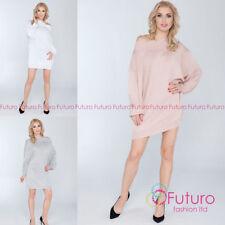 Regular Size Long Sleeve Jumper Dresses