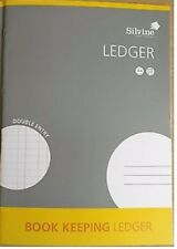BOOK KEEPING LEDGER SILVINE - A4 32 PAGE Accounts Finance Tax Return - Brand New