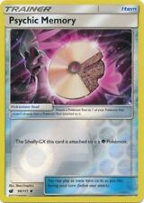 Psychic Memory 98/111 S&M Crimson Invasion REVERSE HOLO PERFECT MINT! Pokemon