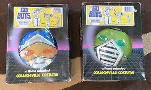Lot of (2) Gobots Cop-Tur & Leader-1 Collegeville 1984 Kids Halloween Costumes