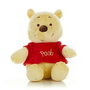 Disney Baby Winnie The Pooh Stuffed Animal Plush with Jingle & Crinkle Sounds,