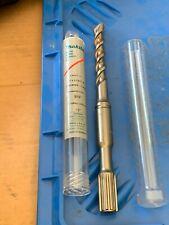 Makita Rotary Hammer Drill Bit 916 Dia 10 Oal Spline 711197a Nib