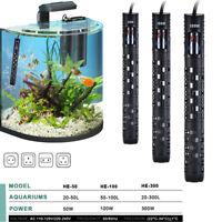 Aquarium Submersible Fish Tank LED Digital Adjustable Water Heater Rod 50-300W