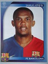 Panini 110 Samuel Eto'o FC Barcelona UEFA CL 2008/09
