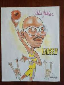 Kareem Abdul Jabbar JSA Coa Hand Signed 11x14 Photo Autograph