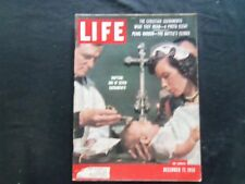 1956 DECEMBER 17 LIFE MAGAZINE - BAPTISM - L 1036