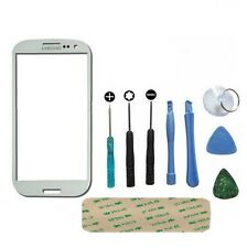 Genuine Glass White Replacement Front Screen For Samsung Galaxy S4 MINI GT-i9195