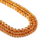 """Lava Beads 6 8 10mm Round Volcanic Gemstone Beads 15"""" Full Strand 103039"""