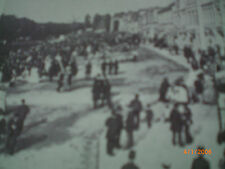 Hamburg - alte Fotografien - Spielbudenplatz 1868 und 1866