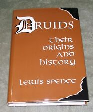 DRUIDS - Their Origins and History by Lewis Spence 1995 HC/DJ ~ 1st Ed 1st Print