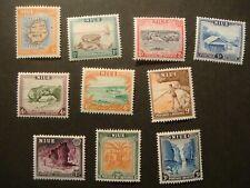 Niue.1950.#94-103.MNH
