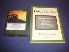 Teaching Co Great Courses DVDs        HIGH SCHOOL WORLD HISTORY     brand new