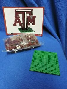 BRXLZ Texas A & M 3-D Construction Toy Forever Collectibles