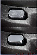 2005-2010 Mustang Chrome Billet Drivers Seat Lumbar Adjust Button Cover