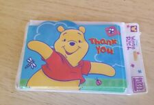 Walt Disney Winnie The Pooh Party Express Thank You Cards Hallmark Sealed New