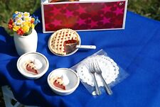 American Girl Addy's Ice Cream Set - New in Box -