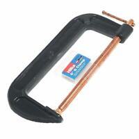 """6"""" 150mm G Clamp Heavy Duty Cast Iron Clamps Wood Working Welding Tool"""