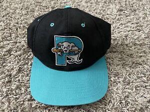 Portland Sea Dogs VINTAGE Snapback Hat MiLB Marlins Red Sox Baseball Outdoor Cap