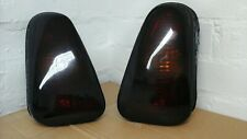 Mini Cooper tinted,smoked Rear Back Tail Light Set  2002 2003 2004 2005 One R50