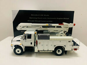 Altec International Aerial Device Utility Truck By First Gear 1/34 Scale DieCast
