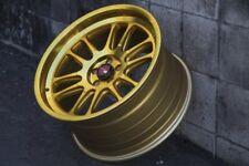 Aodhan AH07 18x9.5 +30 5x100 Gold Impreza WRX FRS BRZ Celica Corolla TC XD