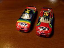 Lot 2 1:64 2000 Monte Carlos #24 Gordon both rainbow mint Hasbro 1)Charlotte way