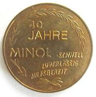 DDR Münze 40 Jahre Minol
