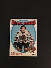 1971-72     TOPPS HOCKEY HIGH GRADE SET BREAK    #110  TONY  ESPOSITO   NM-MT+